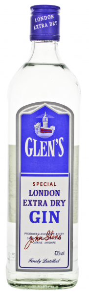 Glen's Special London Extra Dry Gin 0,7L 43%