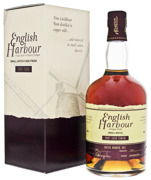 English Harbour Rum Port Cask Finish 0,7L 46%
