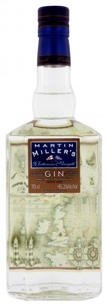 Martin Millers Dry Gin Westbourne Strength, 0,7 L, 45,2%