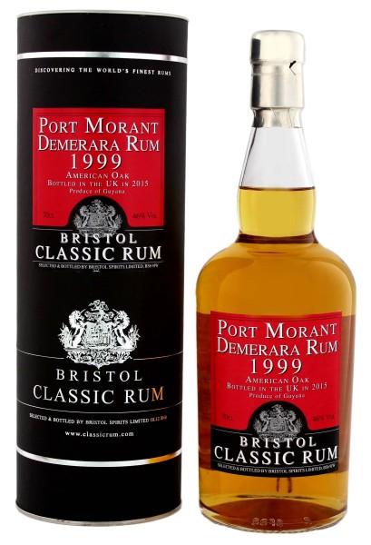 Bristol Rum Port Morant Guyana 1999-2015 0,7L 46%