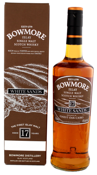 Bowmore Single Malt Whisky White Sands 17YO 0,7L 43%