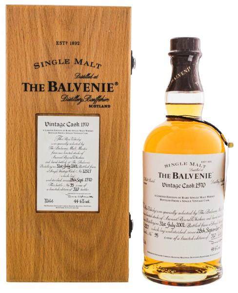 The Balvenie Single Malt Vintage Cask 1970 0,7L 44,6%