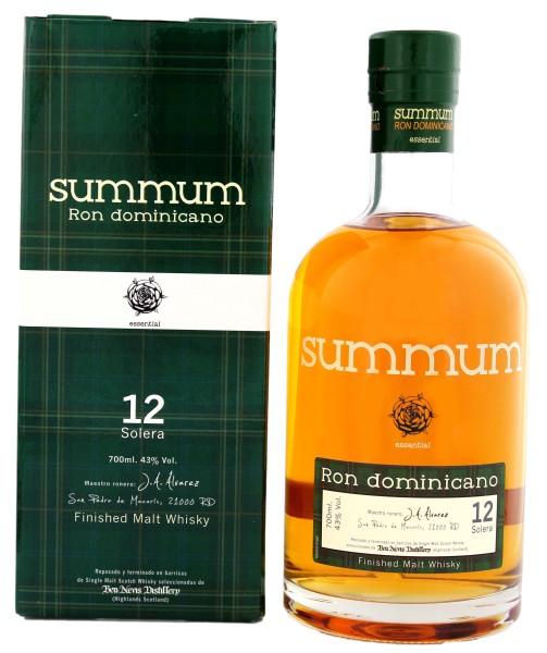 Summum Rum 12 Jahre Malt Whisky Finish