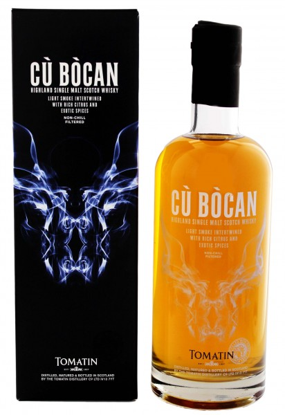 Tomatin Single Malt Whisky Cu Bocan
