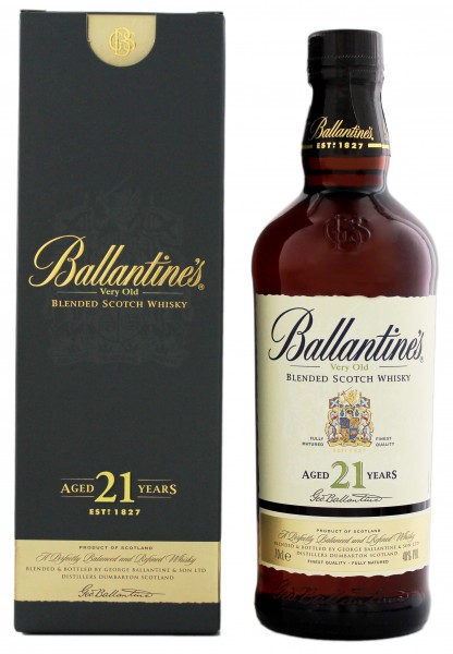 Ballantines Blended Scotch Whisky 21 Jahre
