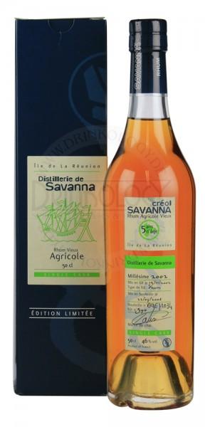 Savanna Rhum Vieux Agricole Single Cask 5 Years Old