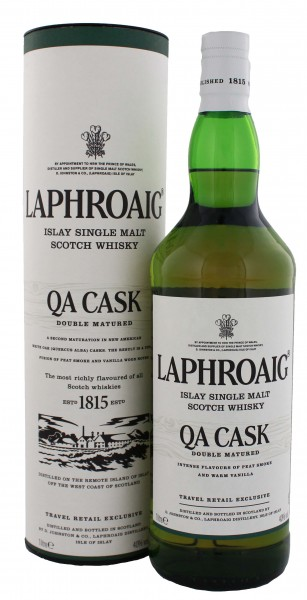Laphroaig Single Malt Whisky QA Cask 1,0L 40%