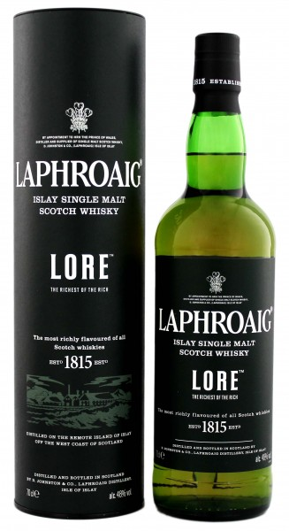 Laphroaig Single Malt Whisky Lore 0,7L 48%