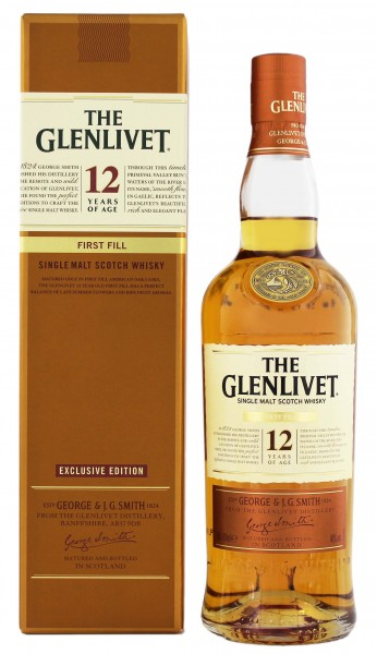 The Glenlivet 12 Jahre First Fill