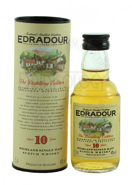 Edradour Single Malt Whisky 10 Years Old Miniatue