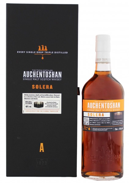 Auchentoshan Solera Single Malt Whisky