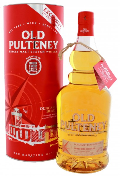 Old Pulteney Single Malt Whisky Duncansby Head Bourbon & Sherry Casks