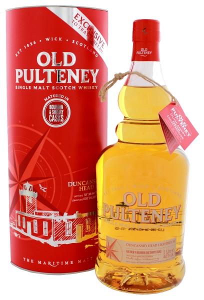 Old Pulteney Single Malt Whisky Duncansby Head Bourbon & Sherry Casks