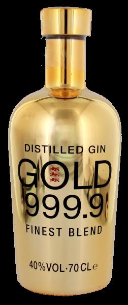 Gin Gold 999.9, 0,7 Liter 40%