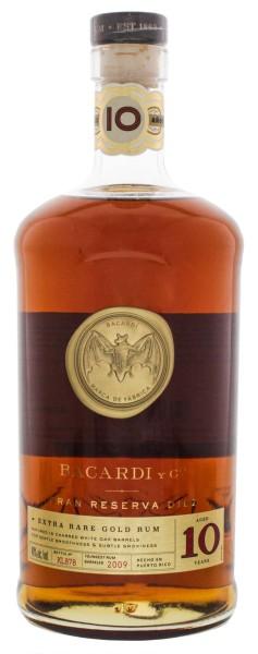 Bacardi Gran Reserva Diez 10 Jahre Extra Rare Gold Rum 1,0L 40%