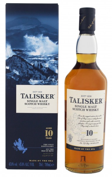 Talisker Single Malt Whisky 10 Years Old 0,7L 45,8%