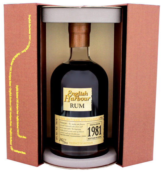 English Harbour Rum 25 Years Old, 0,7L 40%