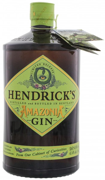 Hendrick's Gin Amazonia Limited Release 1,0L 43,4%