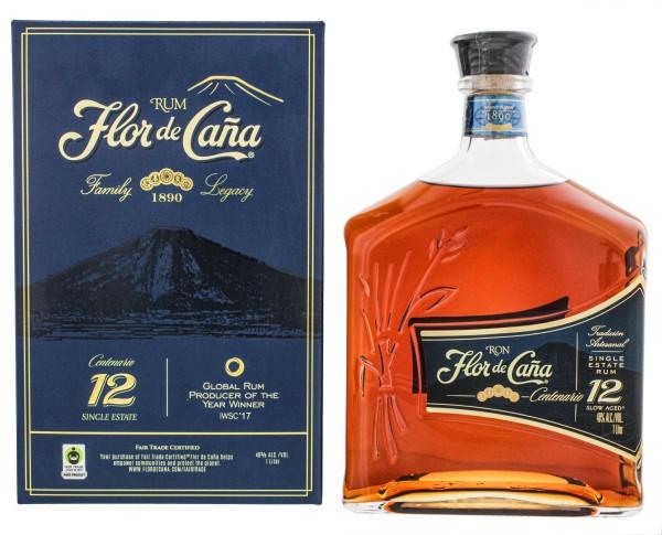 Flor de Cana Rum Centenario -12- 1,0L 40%