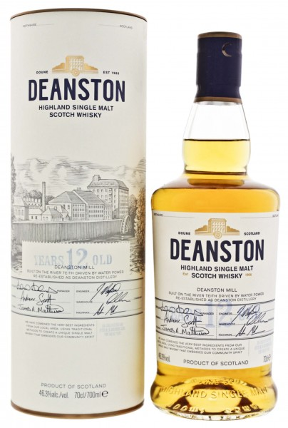 Deanston Single Malt Whisky 12 Years Old 0,7L 46,3%