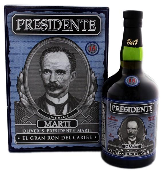 Presidente Marti Rum 15 Solera 0,7L 40%