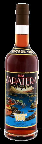 Zapatera Rum Gran Reserva Vintage 1989 0,7L 42%