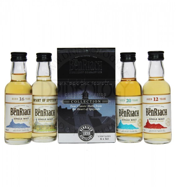 BenRiach Collection Classic Miniatures