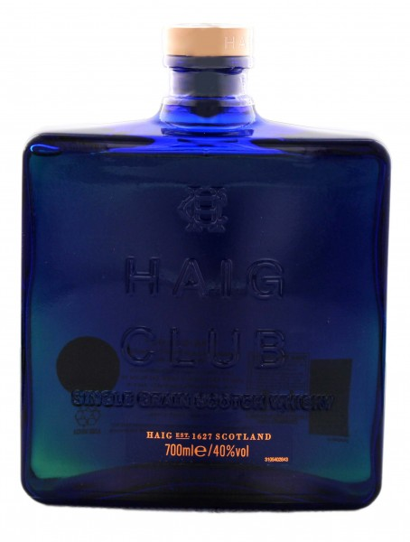 Haig Club Single Grain Scotch Whisky 0,7L 40%