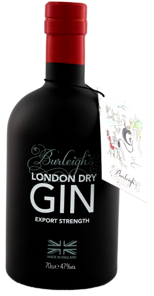 Burleigh's London Dry Gin Export Strength 0,7 L 47%