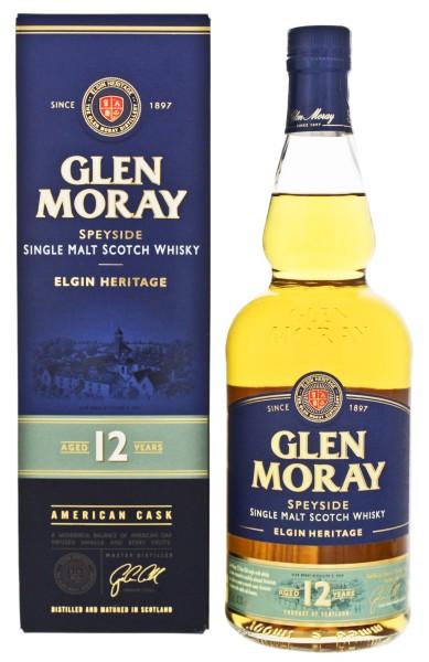 Glen Moray Single Malt Whisky 12 Jahre 0,7L 40%