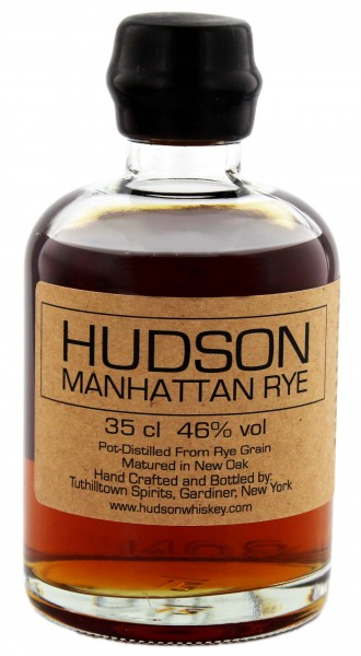 Hudson Manhattan Rye Whiskey, 0,35 L, 46%