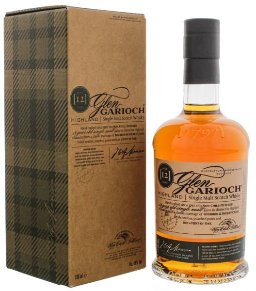 Glen Garioch Single Malt Whisky 12 Jahre, 0,7 L, 48%