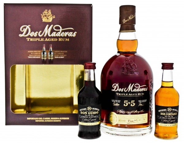 Dos Maderas Triple Aged 5+5(0,7L+2x0,1) Set - 35,3%