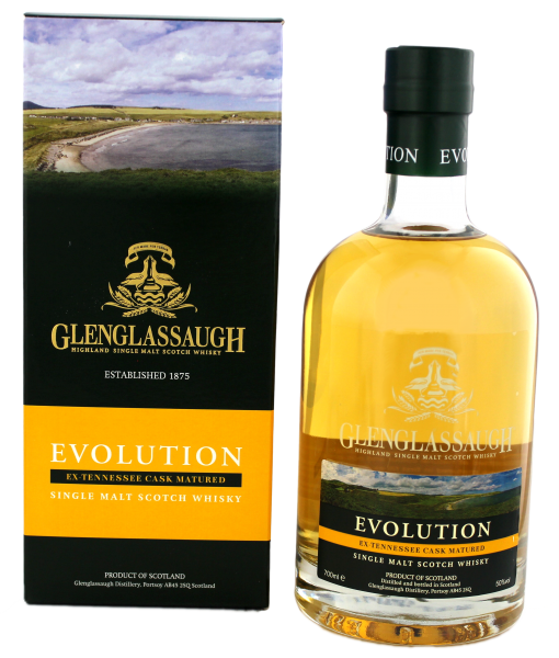 Glenglassaugh Evolution Highland Single Malt Scotch Whisky 0,7 L 50%