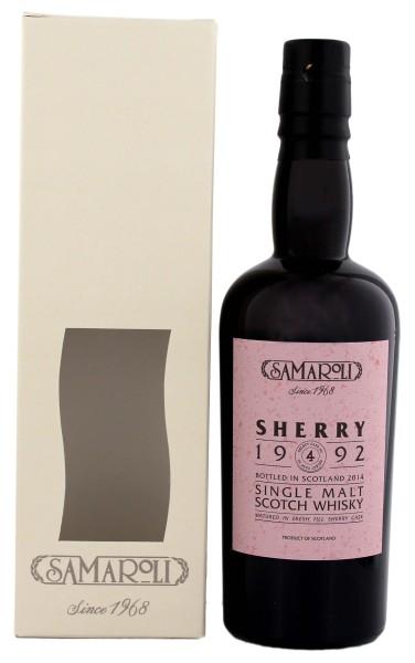 Samaroli Sherry 1992 Glen Scotia Malt Whisky