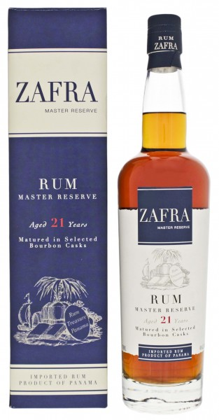 Zafra Rum Master Reserve 21 Years Old 0,7L 40%