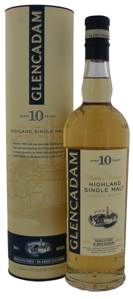 Glencadam Single Malt Whisky 10 Jahre 0,7 L, 46%