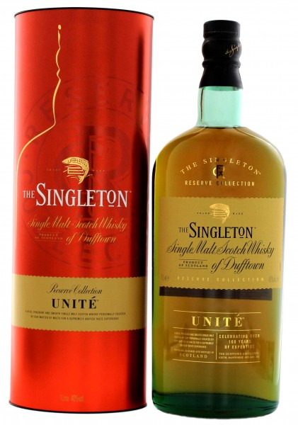 The Singleton of Dufftown Single Malt Whisky Reserve Collection Unité 1,0L 40%