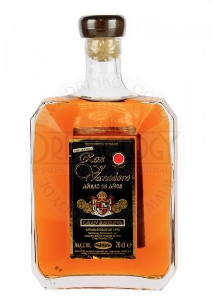 Varadero Rum Anejo Gran Reserva 15 Years Old, 0,7 L, 38%