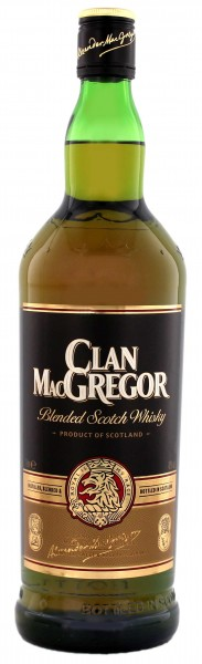 Clan McGregor Blended Scotch Whisky, 1 L, 40%