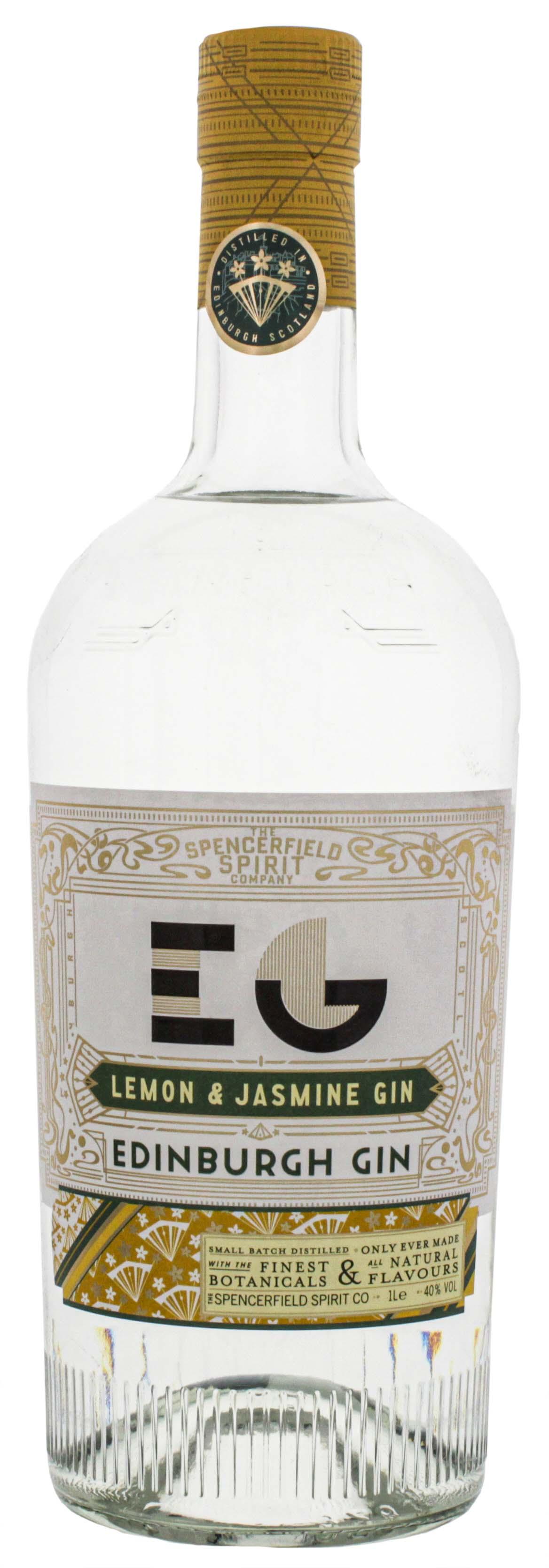 Edinburgh Lemon and Jasmine Gin 1,0L 40%