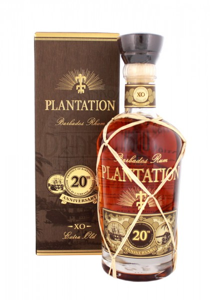 Plantation Rum Barbados Extra Old 20th Anniversary 0,7L 40%