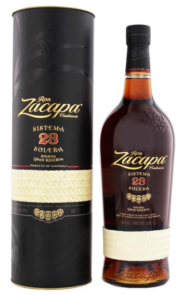 Zacapa Centenario Rum Solera Grand Reserve 23