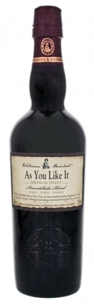Williams & Humbert As You Like It Medium Sweet Sherry 0,5L 20,5%