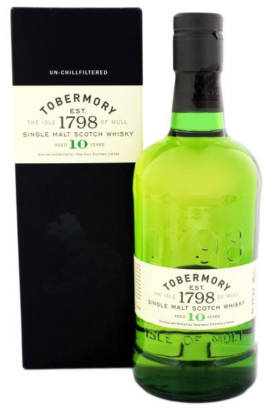 Tobermory Single Malt Whisky 10 Years Old