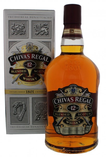 Chivas Regal Blended Scotch Whisky 12 Years Old