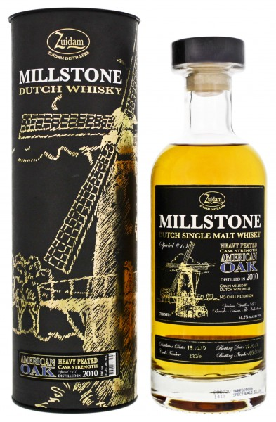 Zuidam Millstone Single Malt Whisky American Oak Cask Strength 0,7L 51,2%