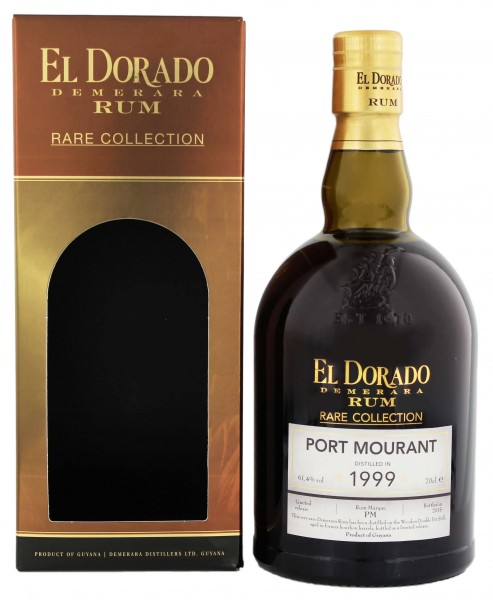 El Dorado Rum Rare Collection Port Mourant 1999/2015