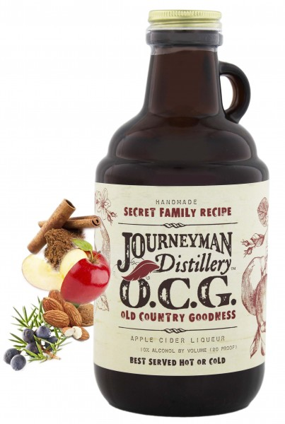 Journeyman Old Country Goodness Apple Cider liqueur, 0,7L 10%