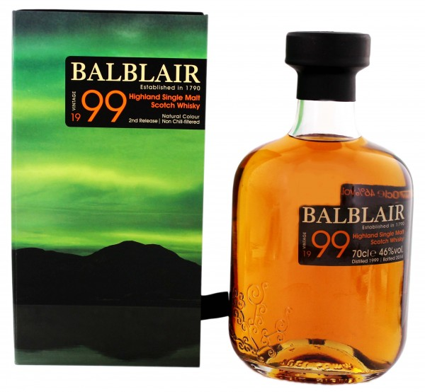 Balblair Single Malt Whisky Vintage 19992014 0,7L 46%